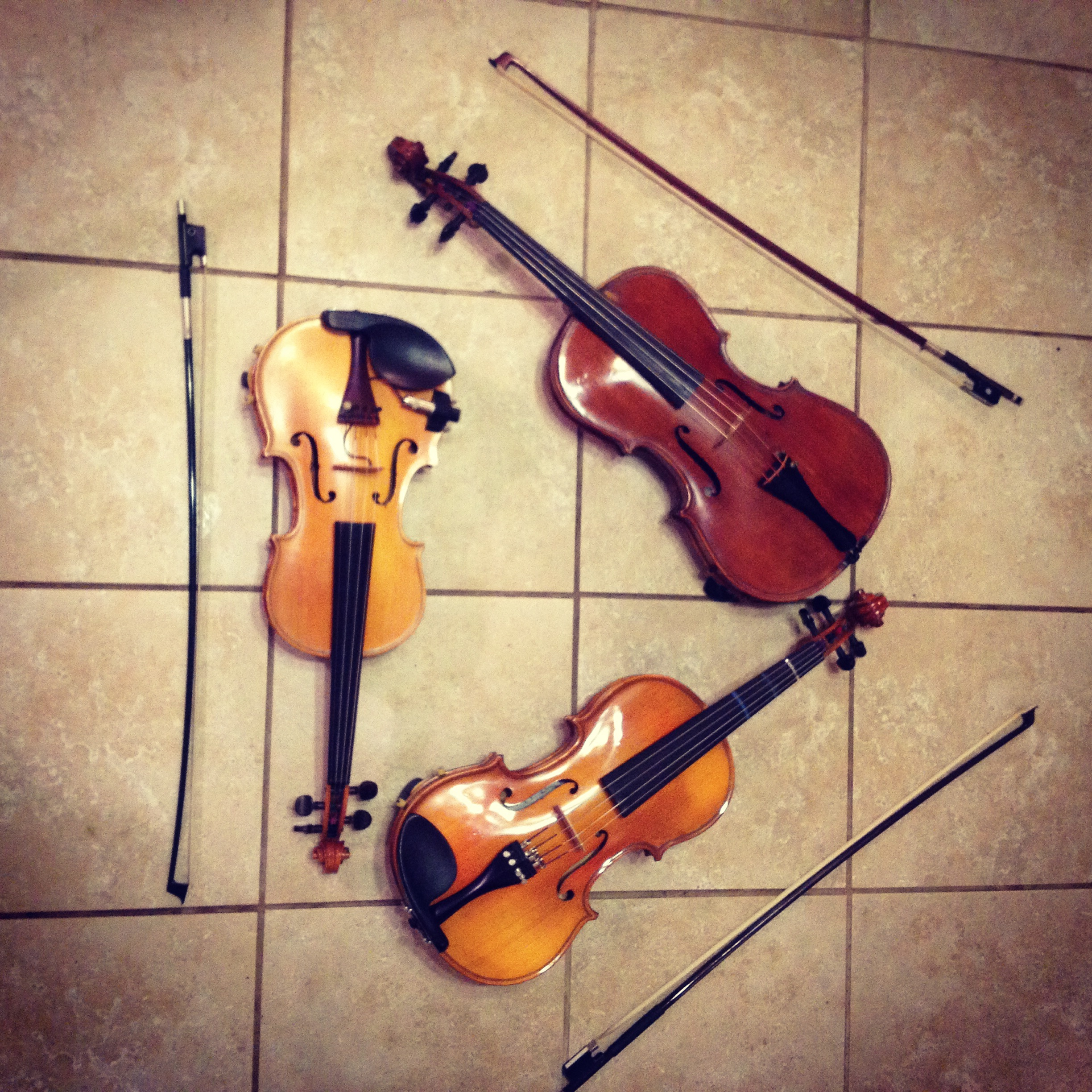 Violin Triangle